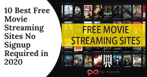 10 Best Free Movie Streaming Sites No Signup Required in 2020