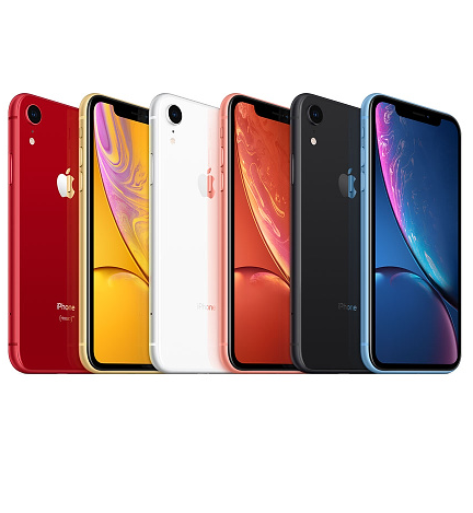 iphone XR (list of iphone Models)