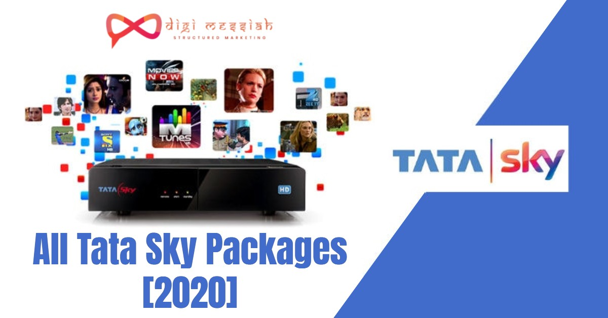 Tata Sky Packages [2020]