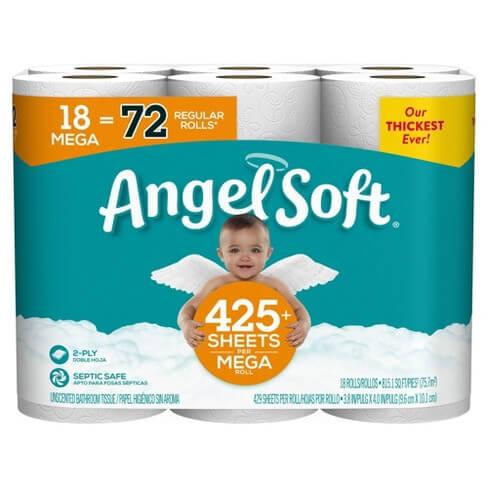Angel Soft Septic Safe Toilet Paper