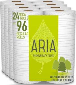 Aria Premium best septic safe toilet paper