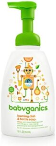 Babyganices best dish soap for baby bottles