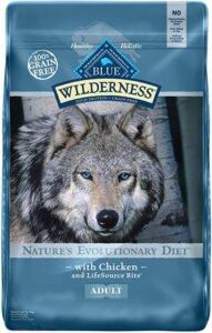 Blue buffalo Wilderness Best Dog foods For German Shepherds