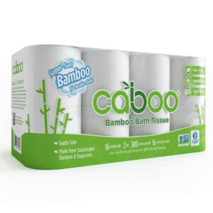 Caboo Tree Free Bamboo Septic Safe Toilet Paper