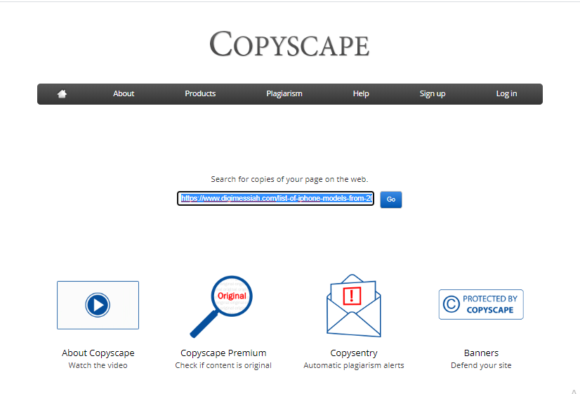 Click-On-Go-Copyscape