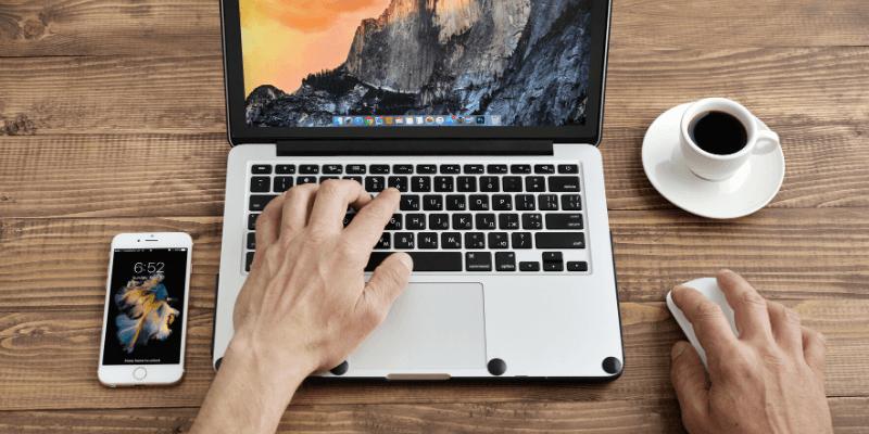 Copy Paste using Macbook Mice