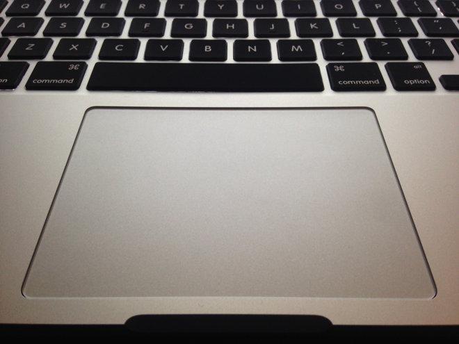 Copy paste on Mackbook using Trackpad