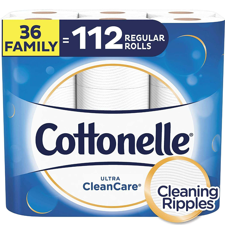 Cottonelle Ultra Care Septic Safe Toilet Paper