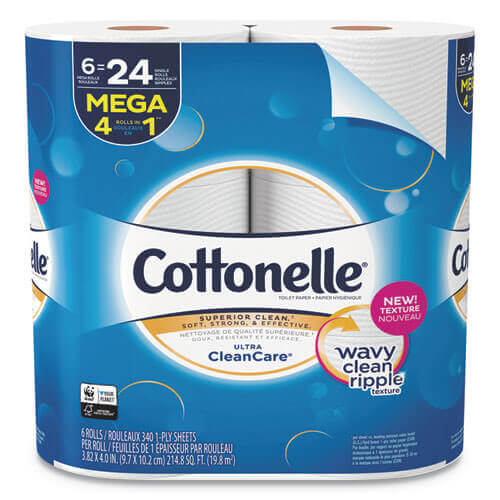 Cottonelle Ultra Clean Care Septic Safe Toilet Paper
