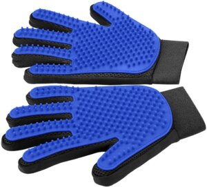 Delomo best pet grooming gloves for dogs