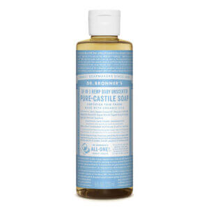 Dr Bronners best dish soap for baby bottles