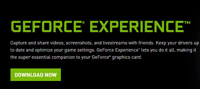 GeForce Experience Error Code 0x0003