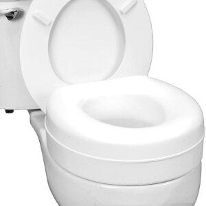 Health smart portable elevated handicap toilet