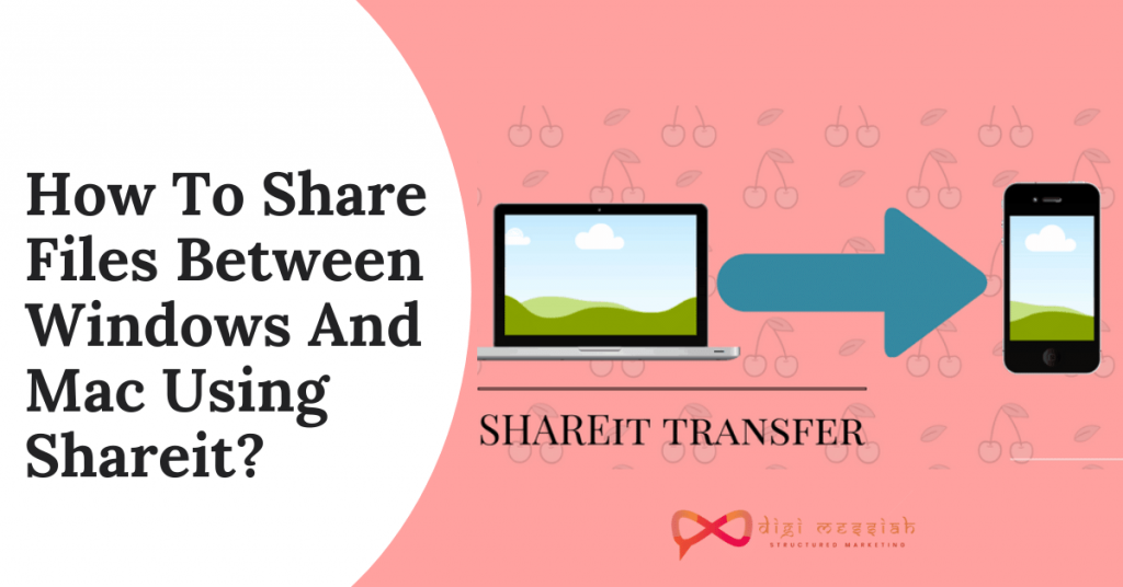 How To Share Files Between Windows And Mac Using Shareit_