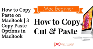 How to Copy Paste on MacBook 3 Copy Paste Options in MacBook
