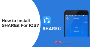 How to Install SHAREit for IOS_