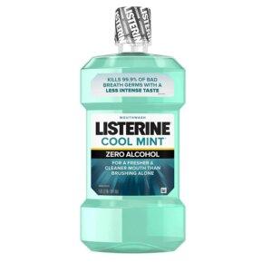 Listerine Best Mouthwash For Bleeding Gums
