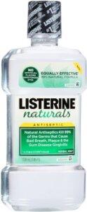 Listerine Naturals Best Mouthwash For Bleeding Gums