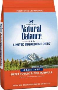 Natural balance LID best dog foods for german shepherds