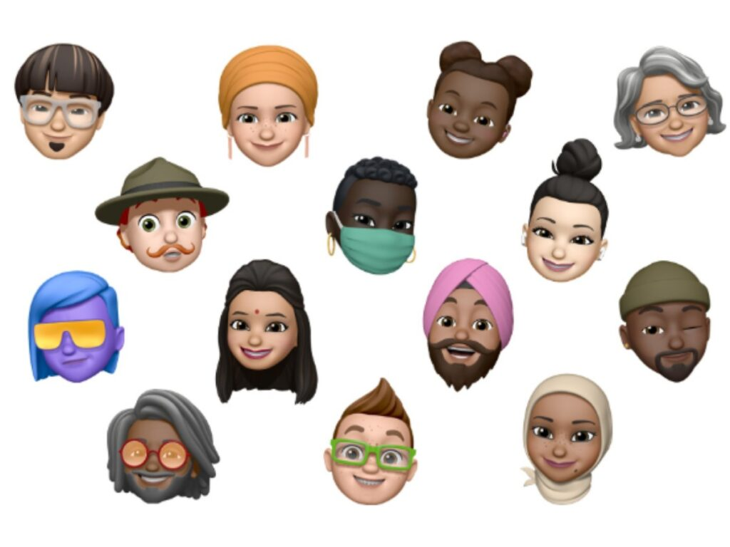 New Memoji styles and stickers