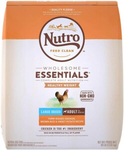 Nutro Wholesome best dog foods for german shepherds