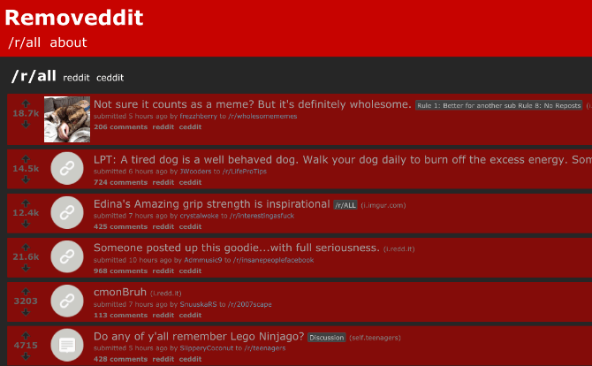 Removeddit [ best way to read deleted reddit comments and posts]