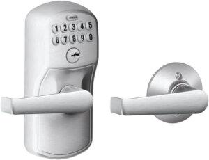 Schlage Plymouth Best Keyless Door Lock