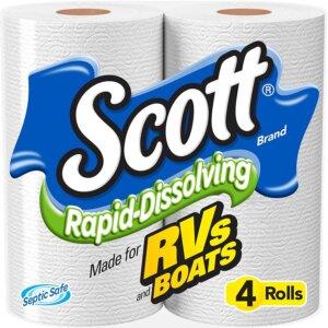 Scott Rapid Dissolving Septic Safe Toilet Paper
