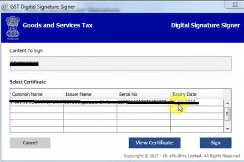 Sign in your Digital Signature