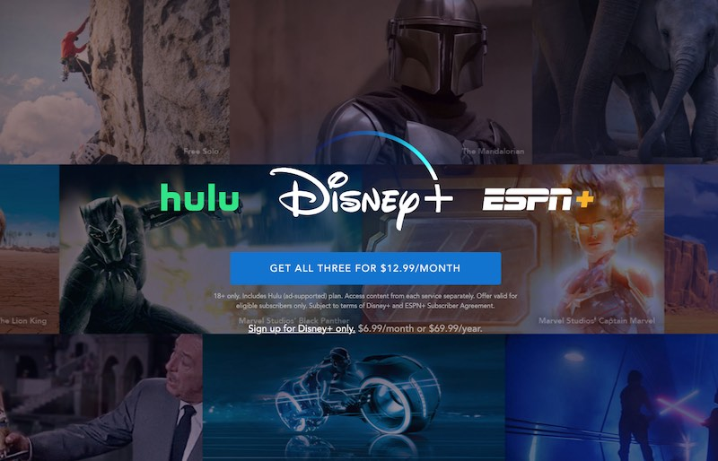 Sign up for Disney Plus Account
