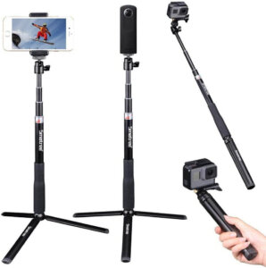 Smatree telescoping best gopro selfie stick