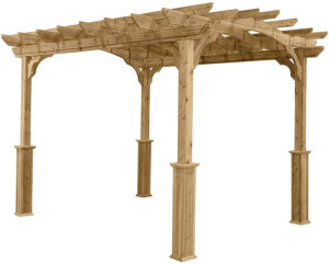 Suncast Wood Pergola