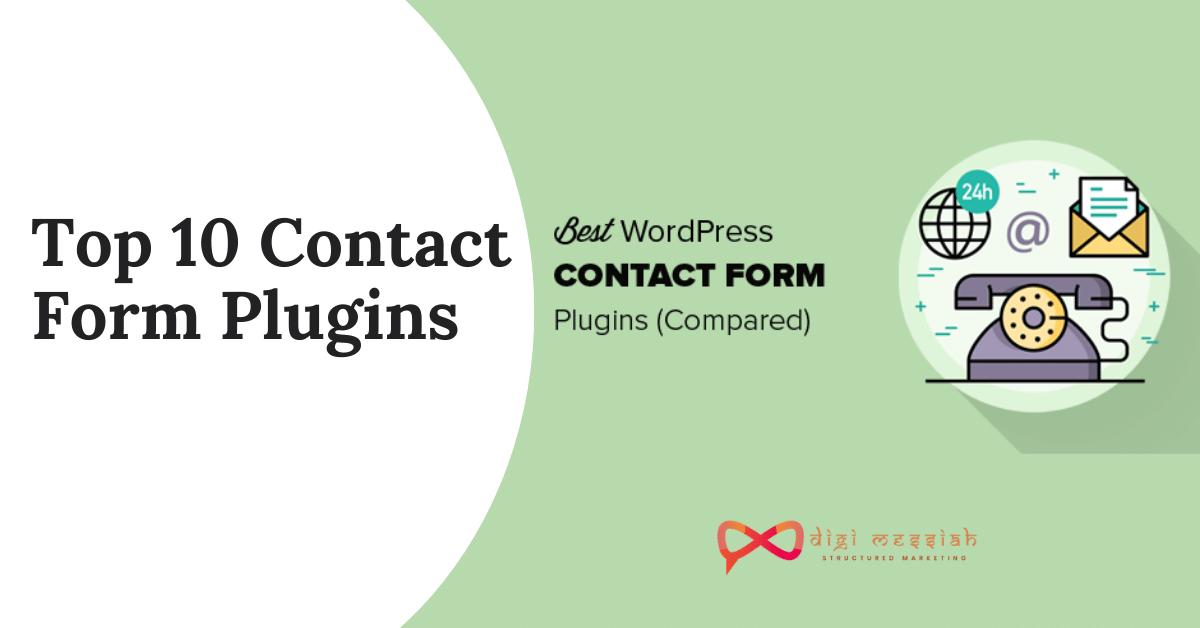Top 10 Contact Form Plugins