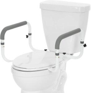 Vive handicap toilet safety rail