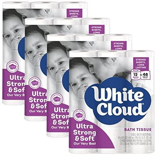 White Cloud best Septic Safe Toilet Paper