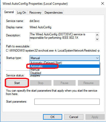 WiFi doesn't have a valid IP configuration 9