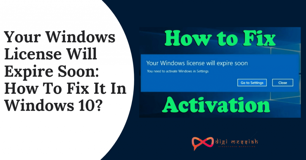 Your Windows License Will Expire Soon_ How To Fix It In Windows 10_