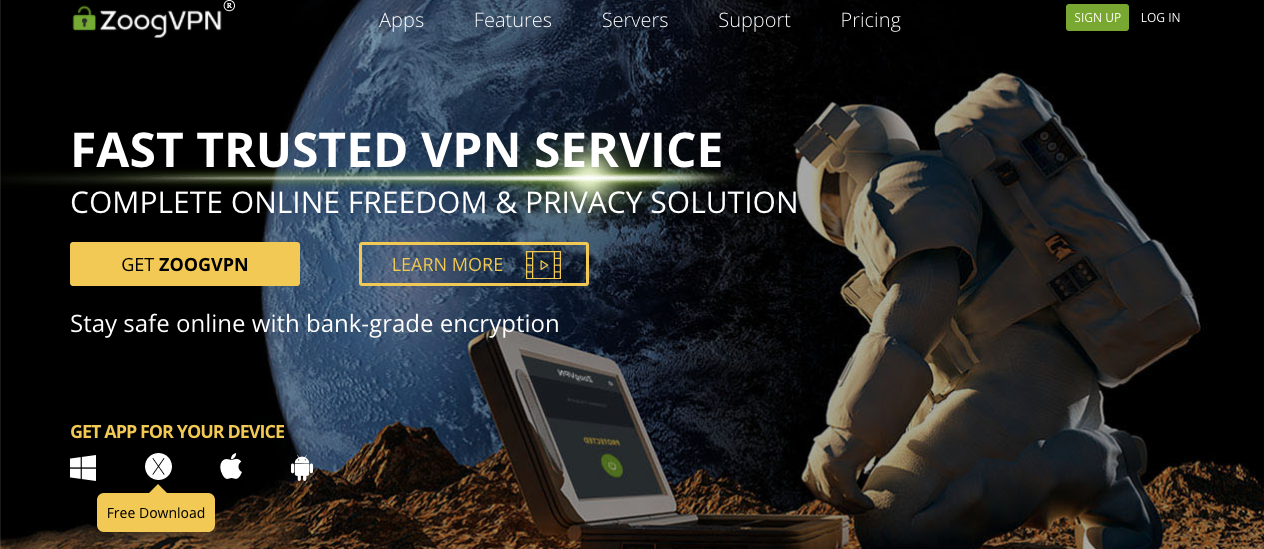 ZOOG VPN FEATURES, PRICING AND BENEFITS