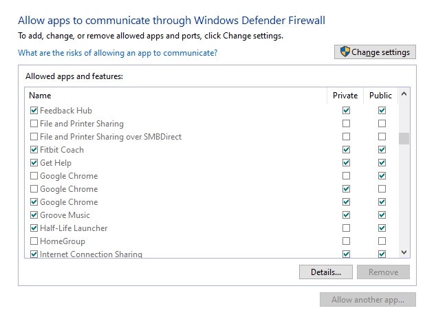 allow Chrome to access the network in your Firewall or Antivirus settings 1