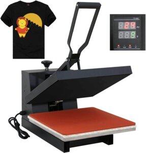 black heat best heat press machine for tshirts
