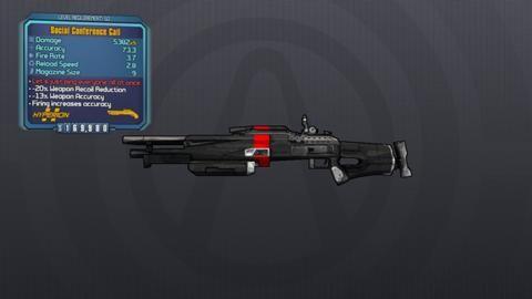 borderlands 2 weapon codes for shotguns
