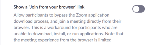 download zoom chrome extension to solve zoom error code-1132