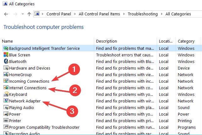 fix Error 651 in windows