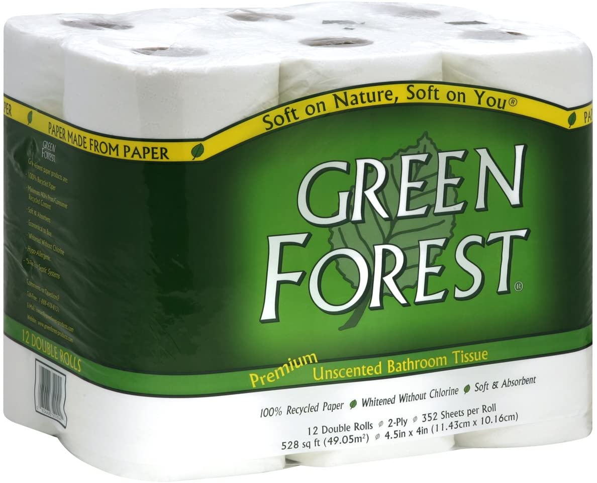green forest best septic safe toilet paper