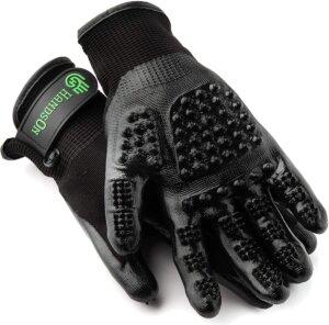 handson best pet grooming gloves