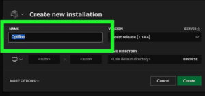 how to install optifine step 4
