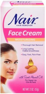 nair hair remover face cream-for