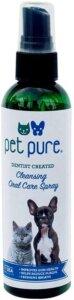 pet pure best dog dental spray