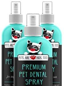 premium best dog dental spray