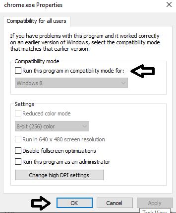 run on compatibility mode